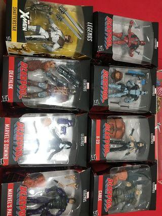 Marvel legend sasquatch wave sets of 8