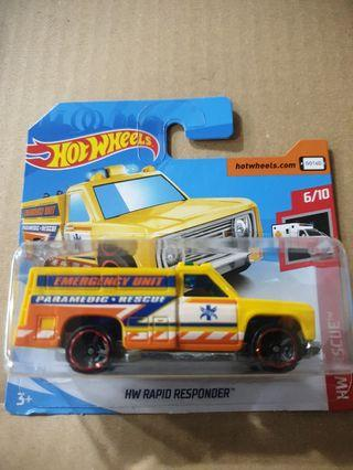 Hot Wheels HW Rapid Responder