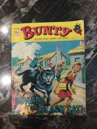 Vintage BUNTY comics number 140 and 141