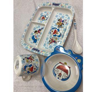 Brand new Doraemon tableware set for toddler RM80 only