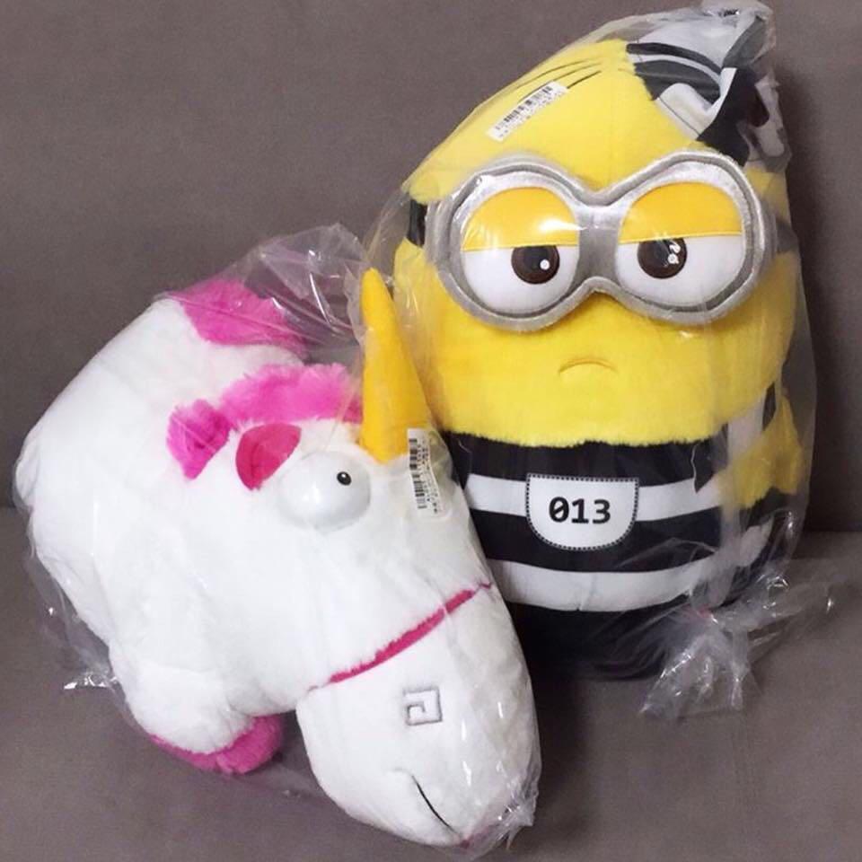 🦄 Despicable Me 3 - Agnes' Unicorn Giga Jumbo Fluffy Plushy (Japan) 🦄