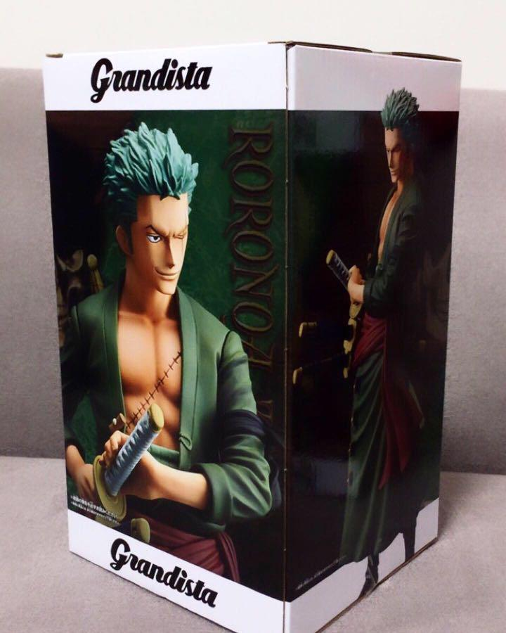 ⚔️ One Piece - GRANDLINE MEN - RORONOA ZORO Figure ⚔️