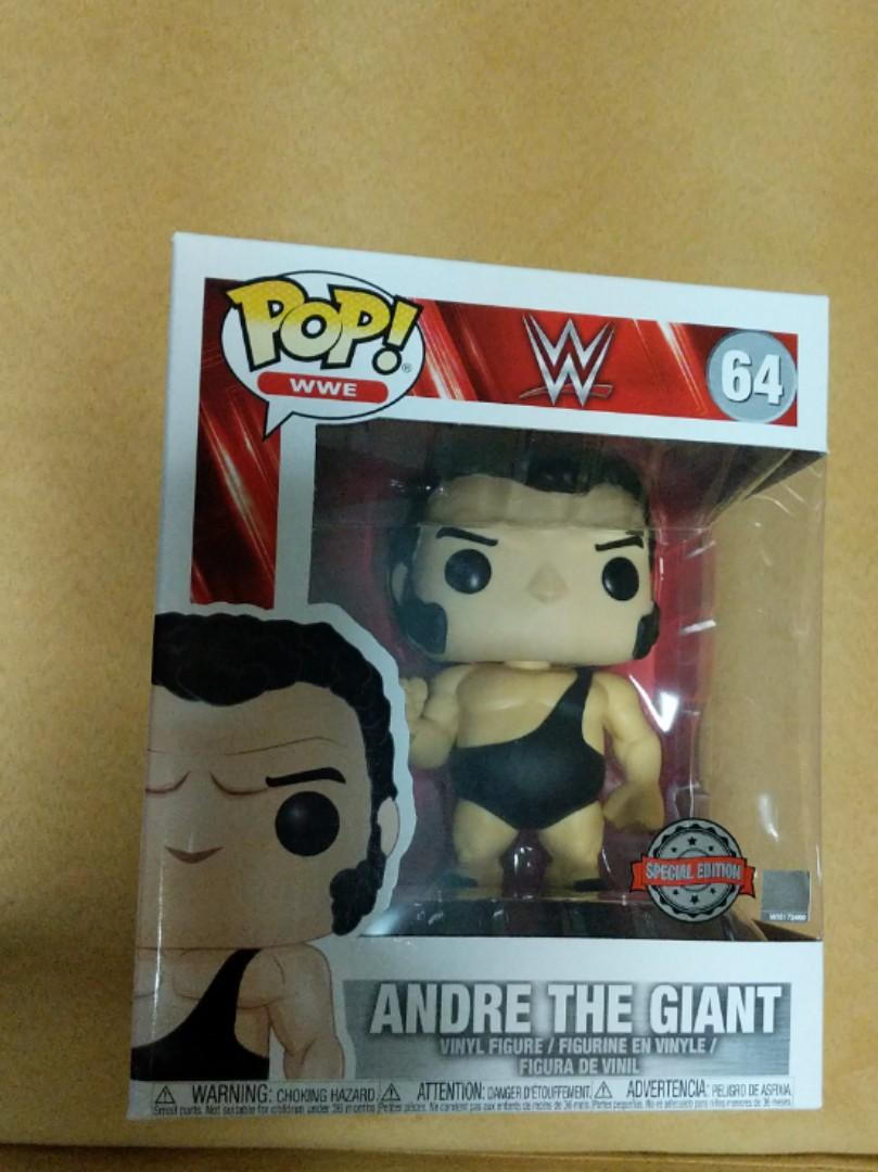 """Vinyl WWE Andre The Giant 6/"""" Exclusive Pop"""