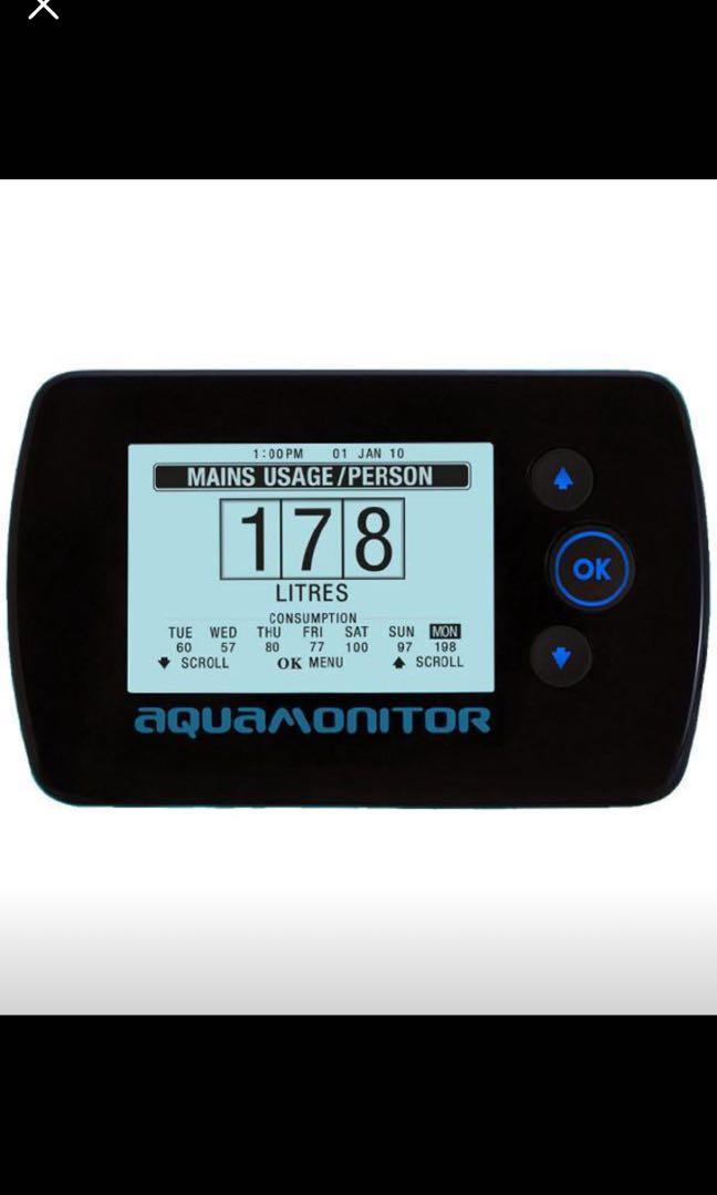 Aquamonitor GreenStar Wireless Water Meter Display Screen
