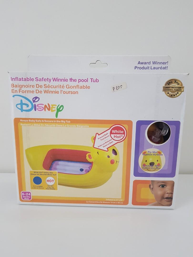 BAK MANDI DISNEY INFLATABLE SAFETY WINNIE THE POOH TUB