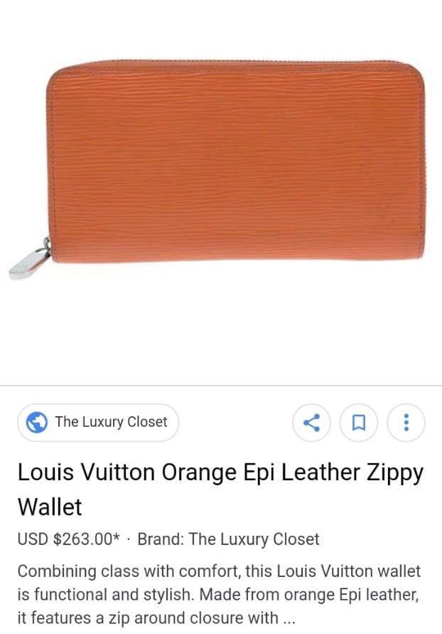 #BAPAU Lv wallet mirror like ori