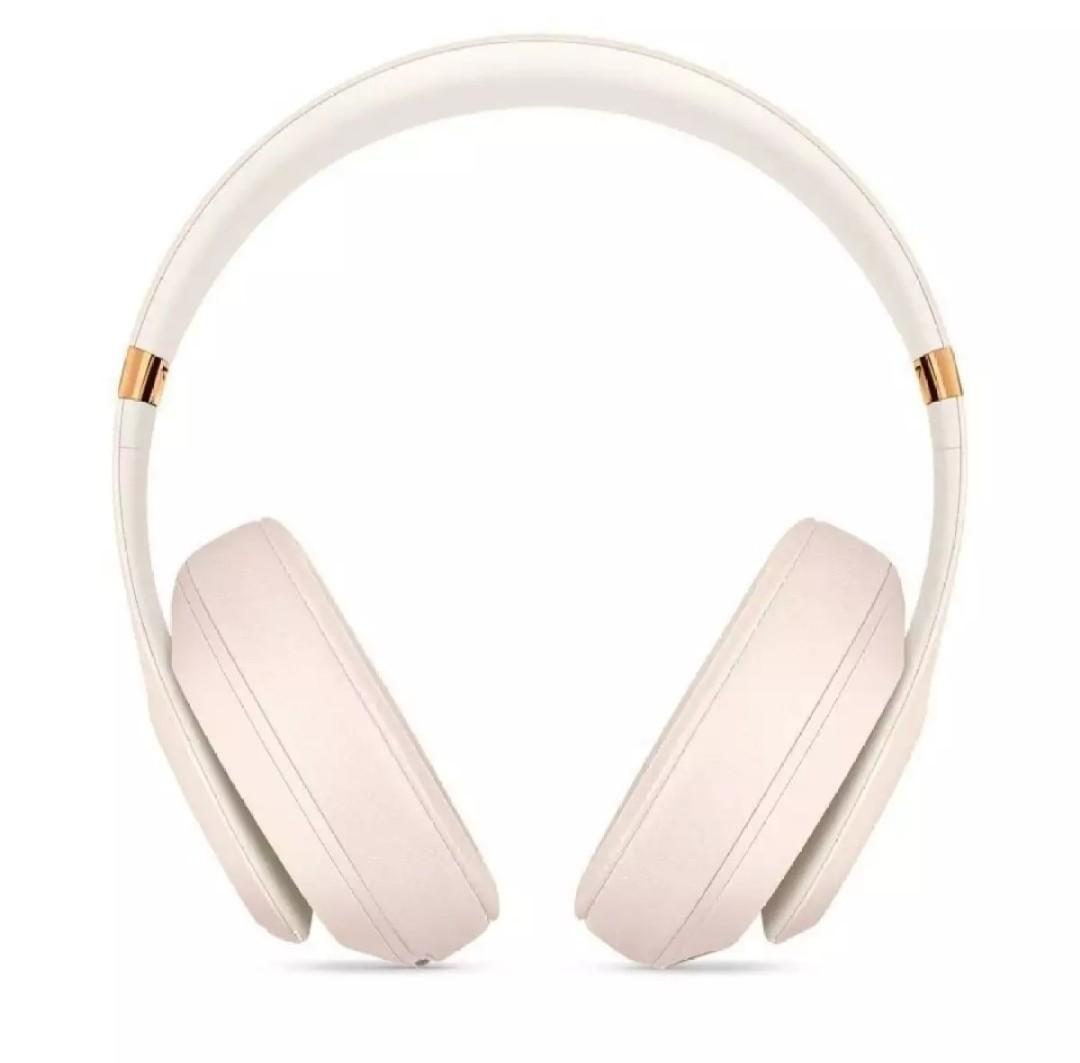 Beats Studio3 Wireless Over-Ear Headphones Pure adaptive noise canceling - Porcelain Rose ORIGINAL