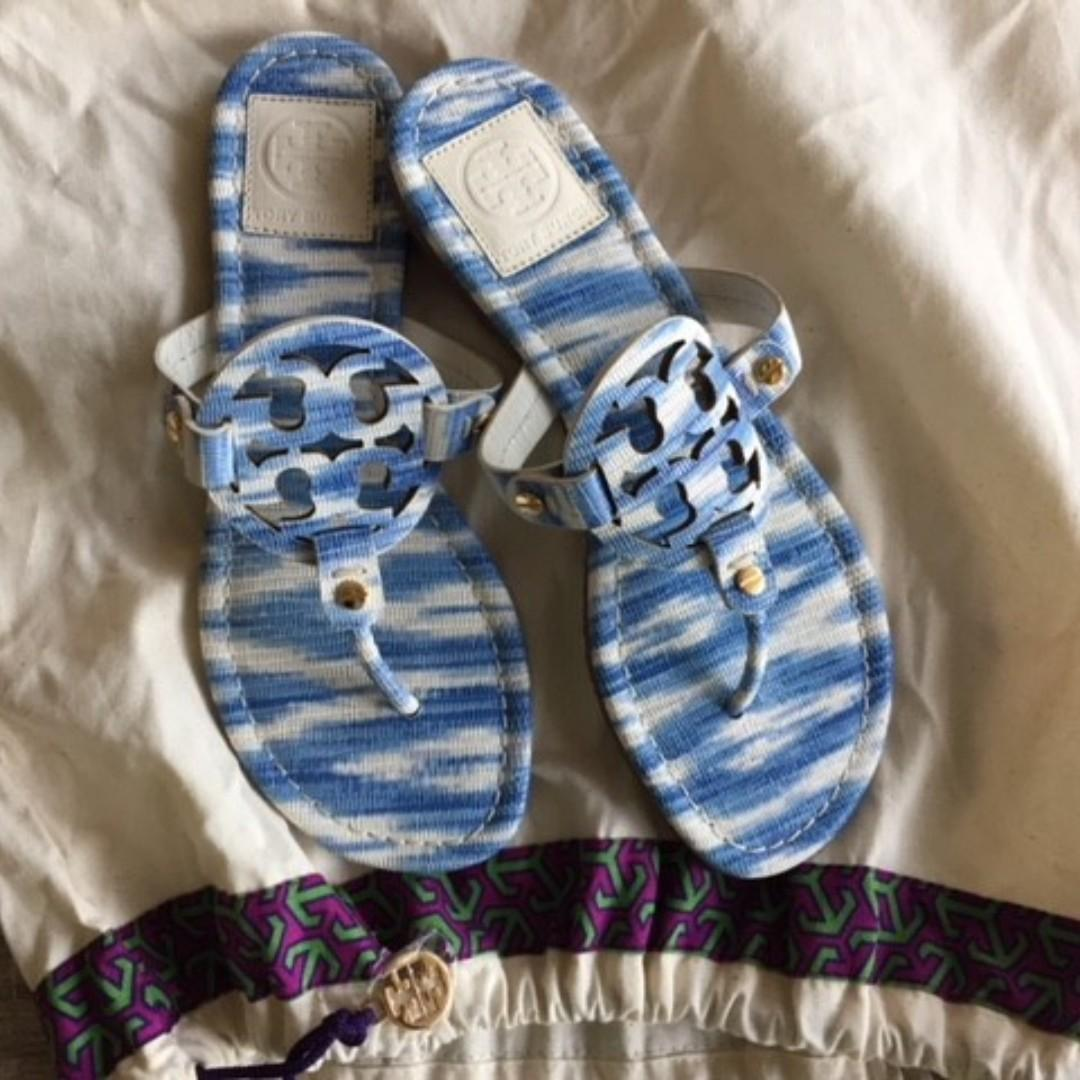 Beautiful and classic Tory Burch Miller Sandals on Sale!!
