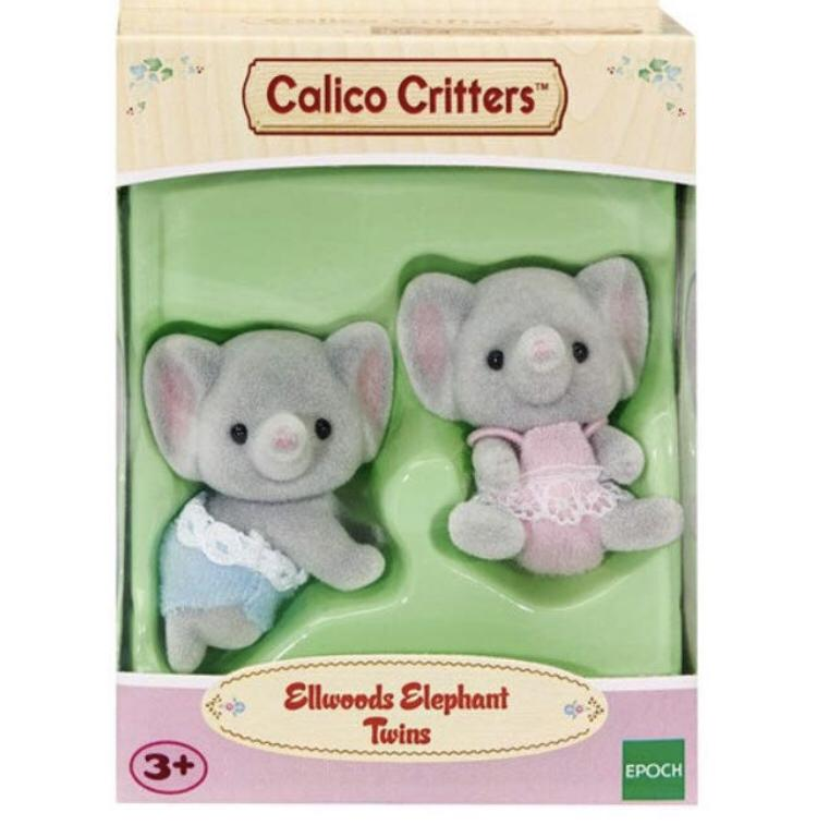 SYLVANIAN FAMILIES CALICO CRITTERS DRESS UP SET FOR BABIES EPOCH FREE SHIPPING