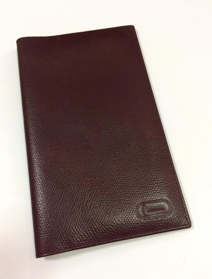 18828773d8aa BNIB Branded LANCEL Paris Leather Passport Holder Passport Cover ...