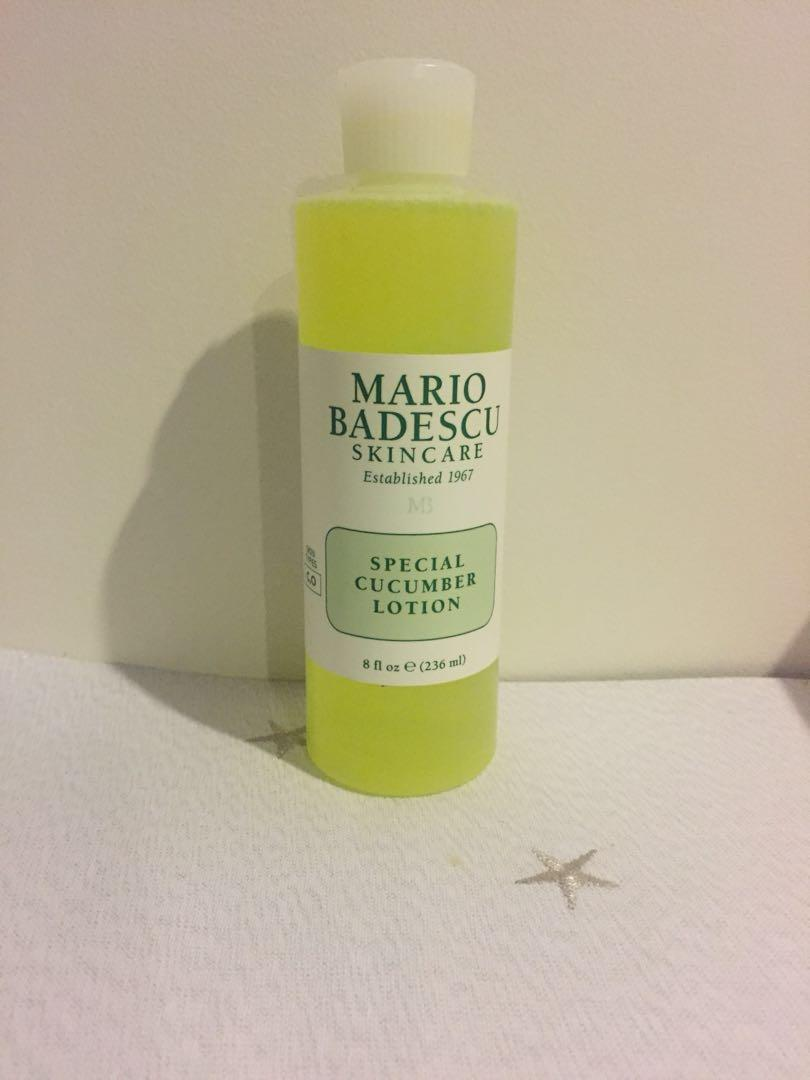 Brand New Mario Badescu Special cucumber lotion