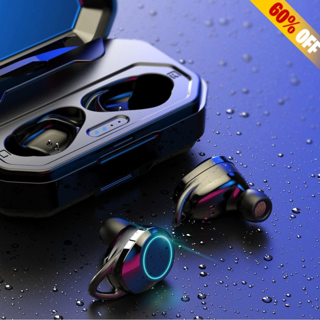 64e5b482972 BRAND NEW Premium Ear Buds With Touch Control & 3000mAh Power Bank ...