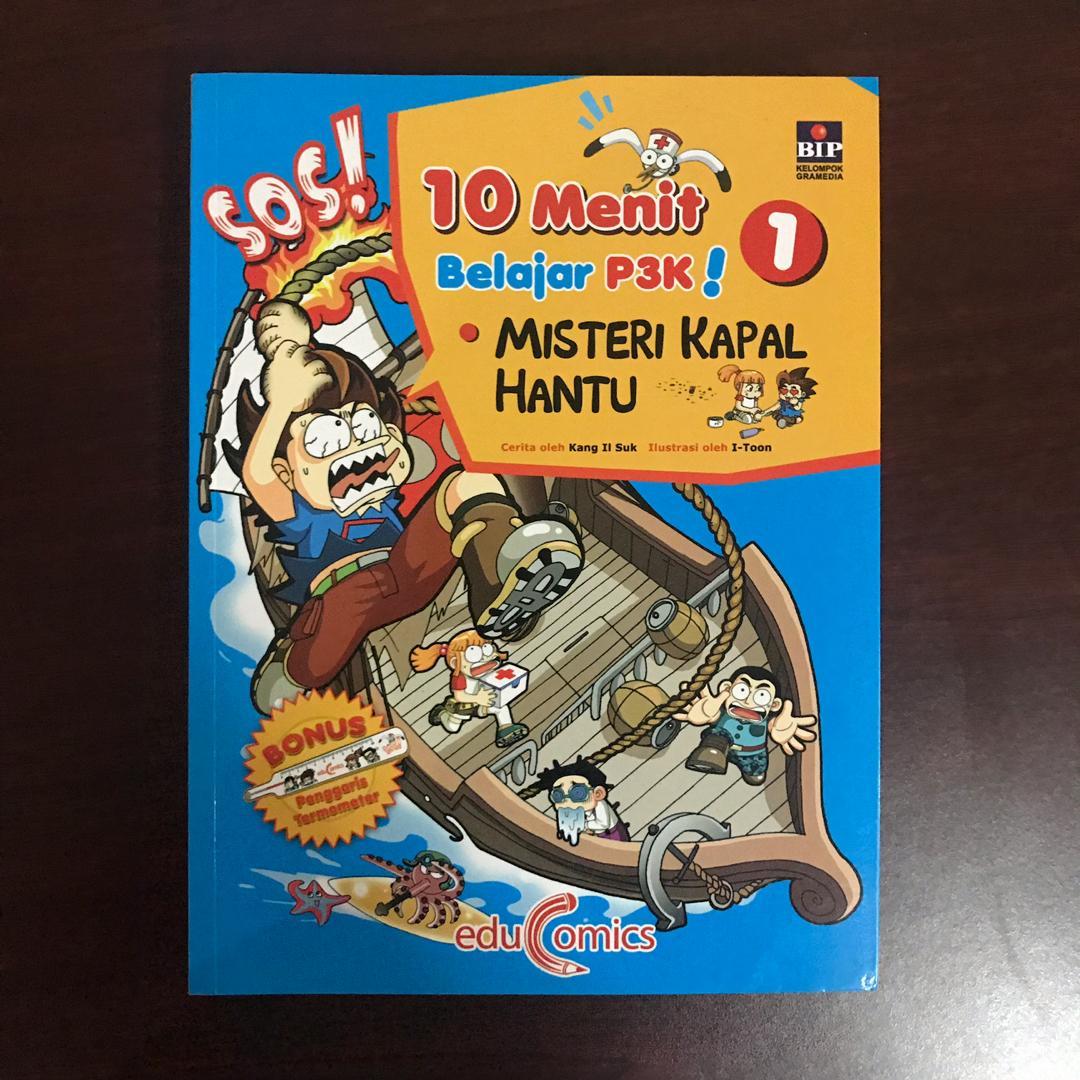 Buku Anak 10 MENIT BELAJAR P3K edisi 1 dan 2