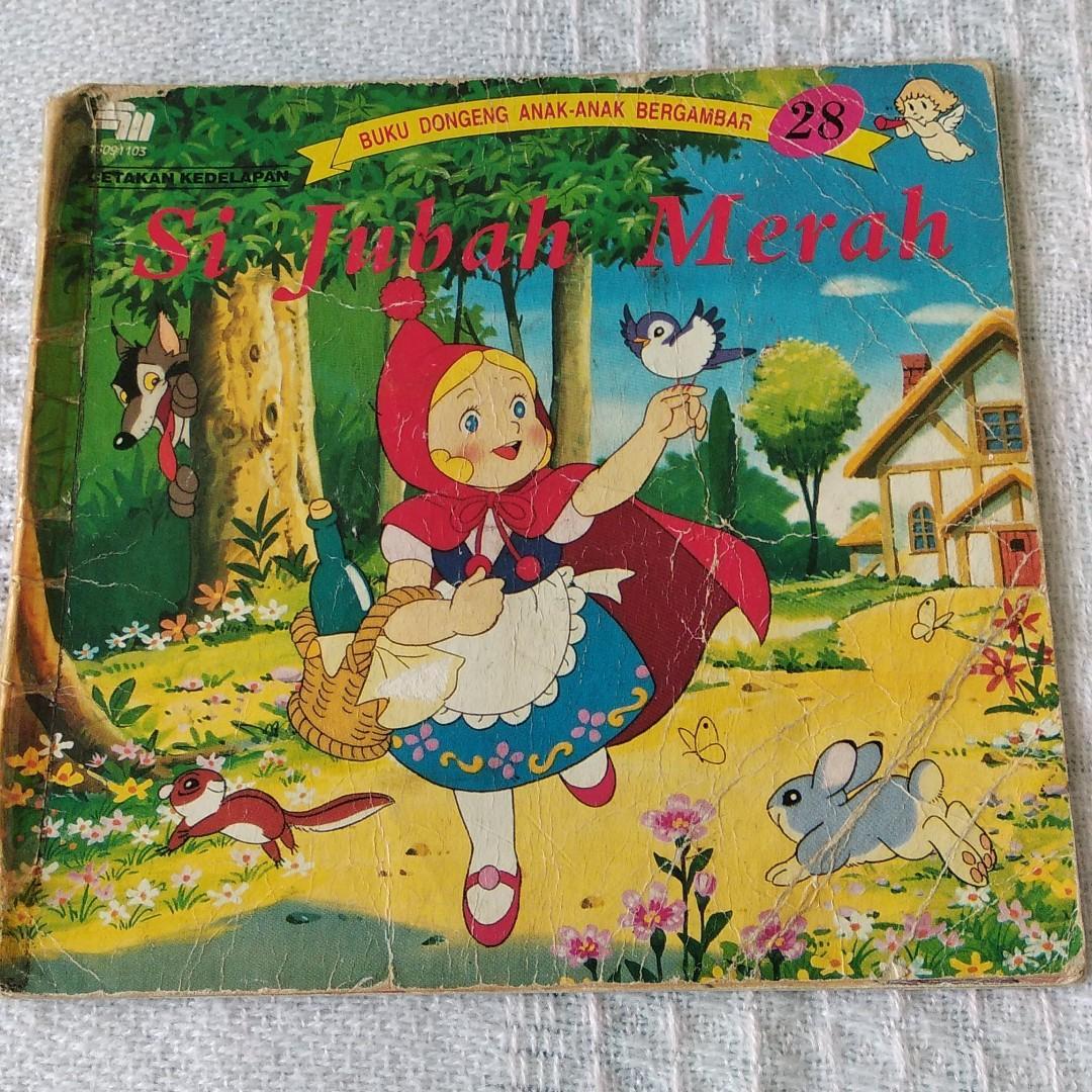 Buku Cerita anak - Si Jubah Merah