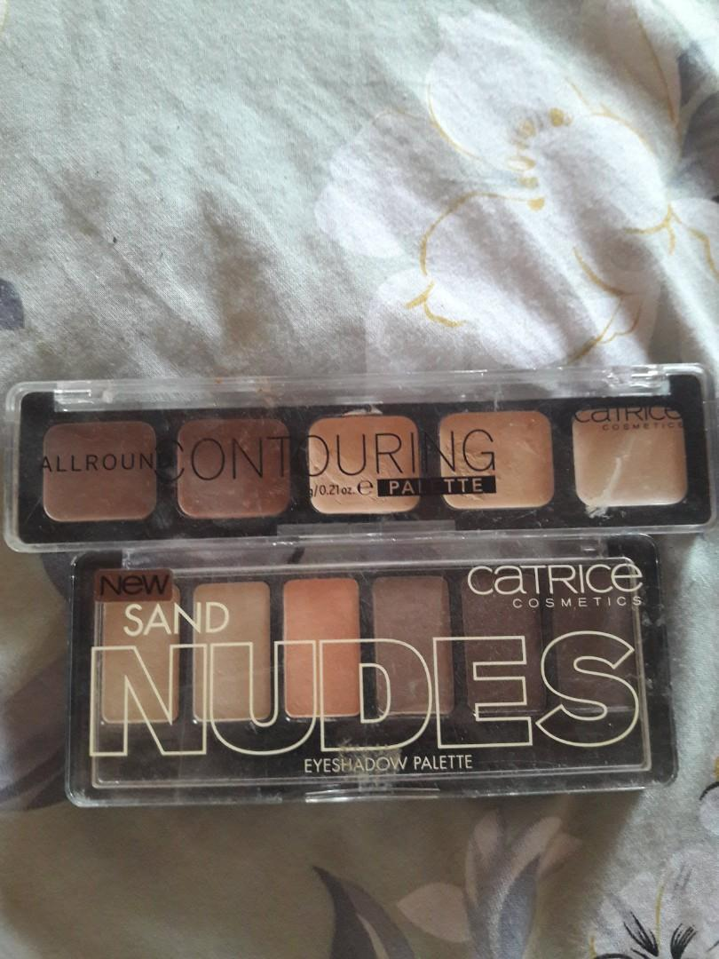 Catrice Eyeshadow + countering Palette