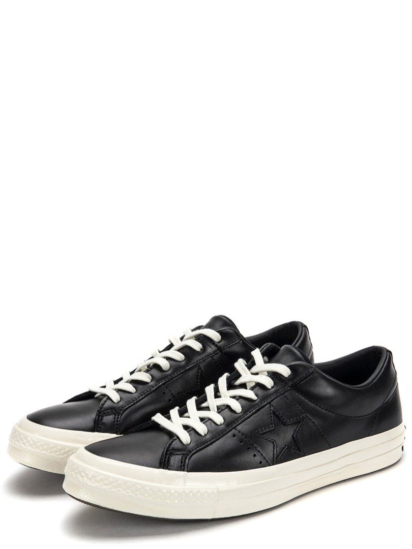 Converse One Star Ox Leather Black, Men
