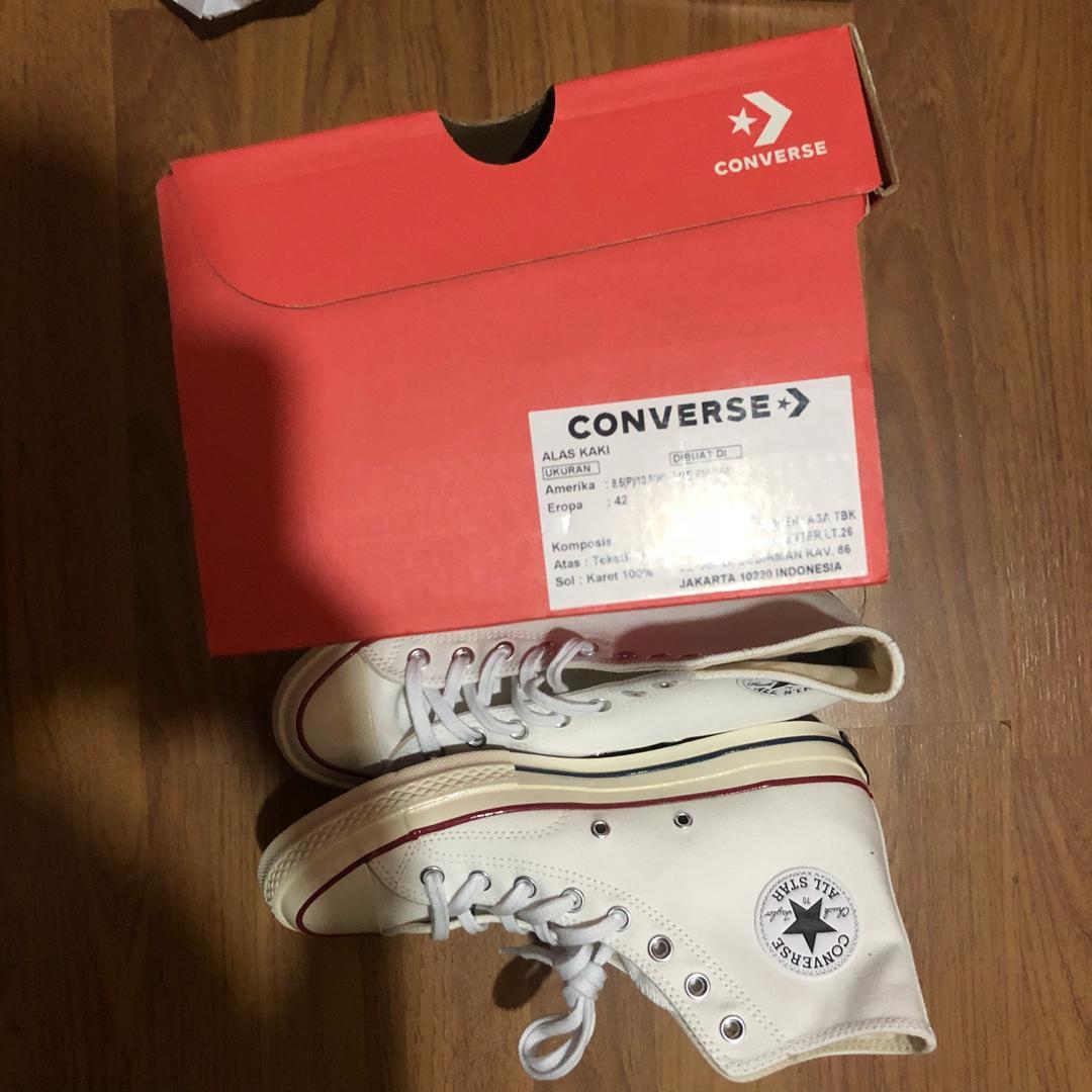 Converse Optical White High