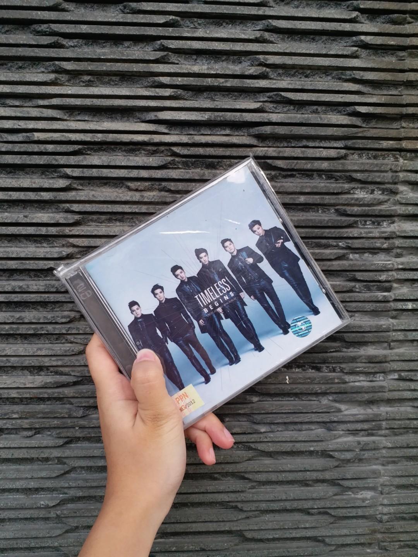 Cross Gene Timeless Begins 1st Album Japan Edition