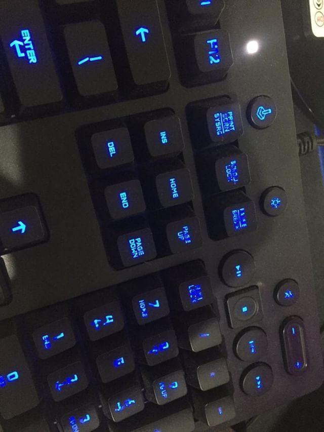 Dijual keyboard gaming Logitech G213 prodigy