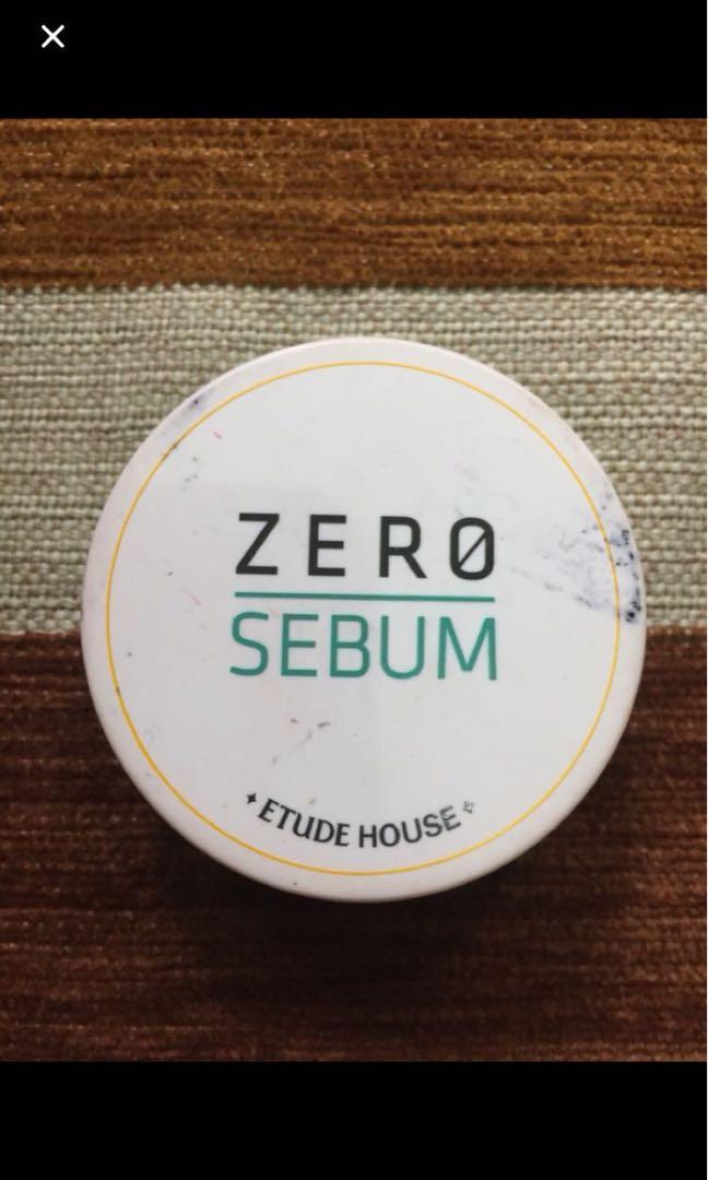 Etudehouse Zero Sebum