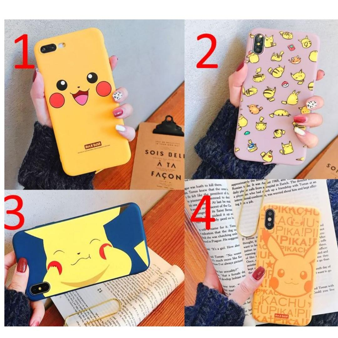 FREE DELIVERY] 2019 Anime Cute Pokemon Pikachu iPhone Case