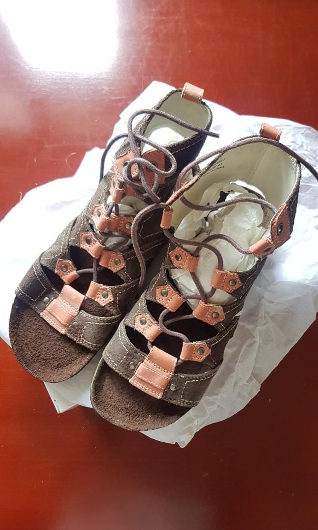 Gladiator lealther (Kulit) sandals