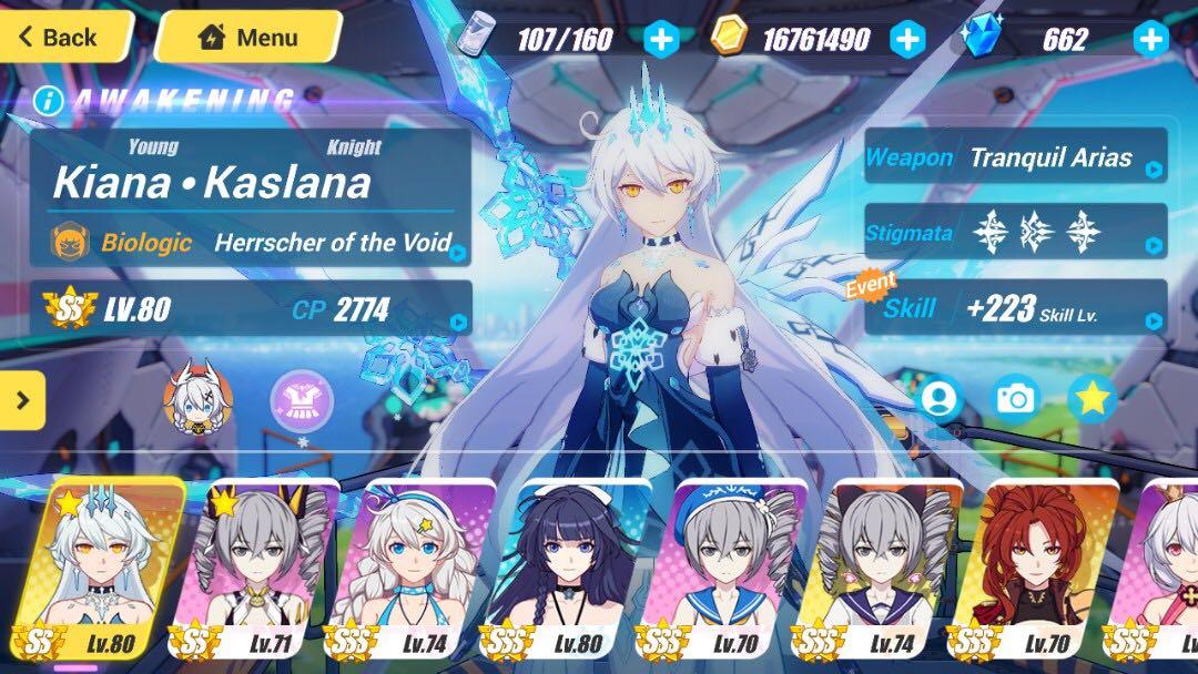 Honkai Impact 3 - SS God Kiana