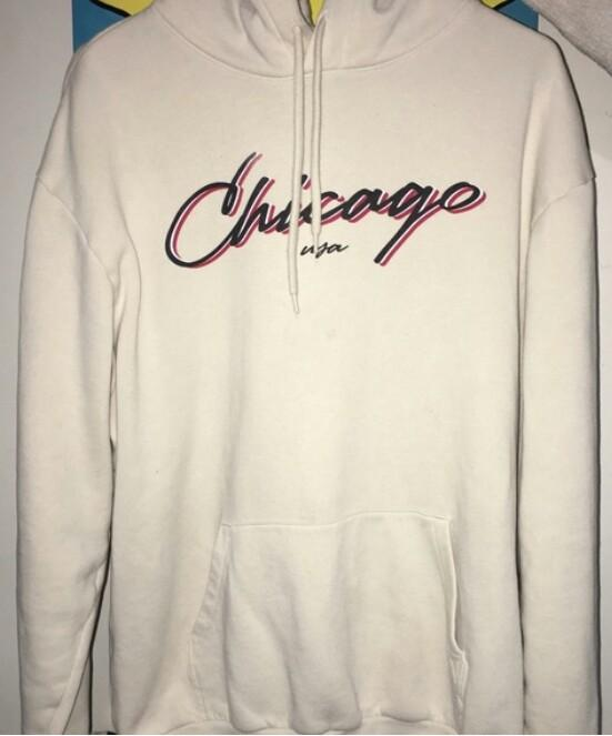 Hoodie H&M divided chicago