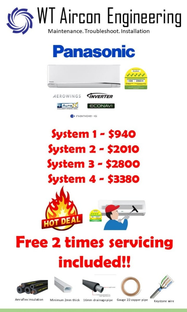 Hottest Aircon Installation Deal In Singapore