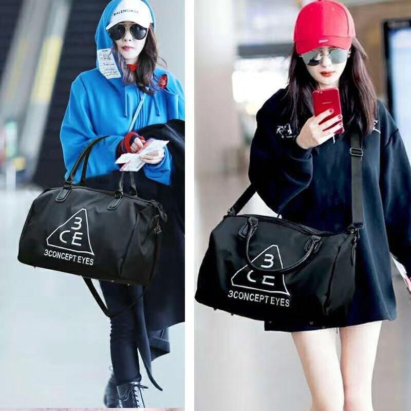 Import NEW - Style Nanda 3 Concept Eyes 3CE Travel Bag / Gym Tote Bag