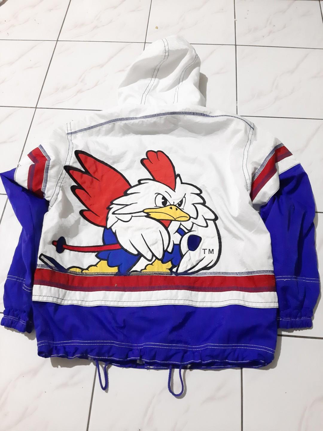 Jaket Ellesse Rare Vintage 80's FRANCE Cocorico Big Logo