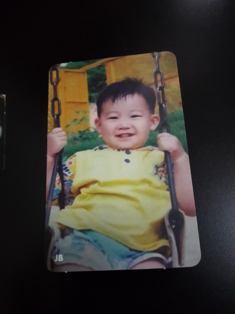 GOT7 JB Photocard (baby JB)