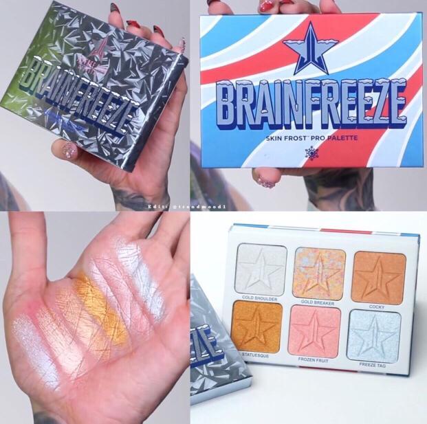 Jeffree Star Cosmetics Summer Collection 2019 Brain Freeze