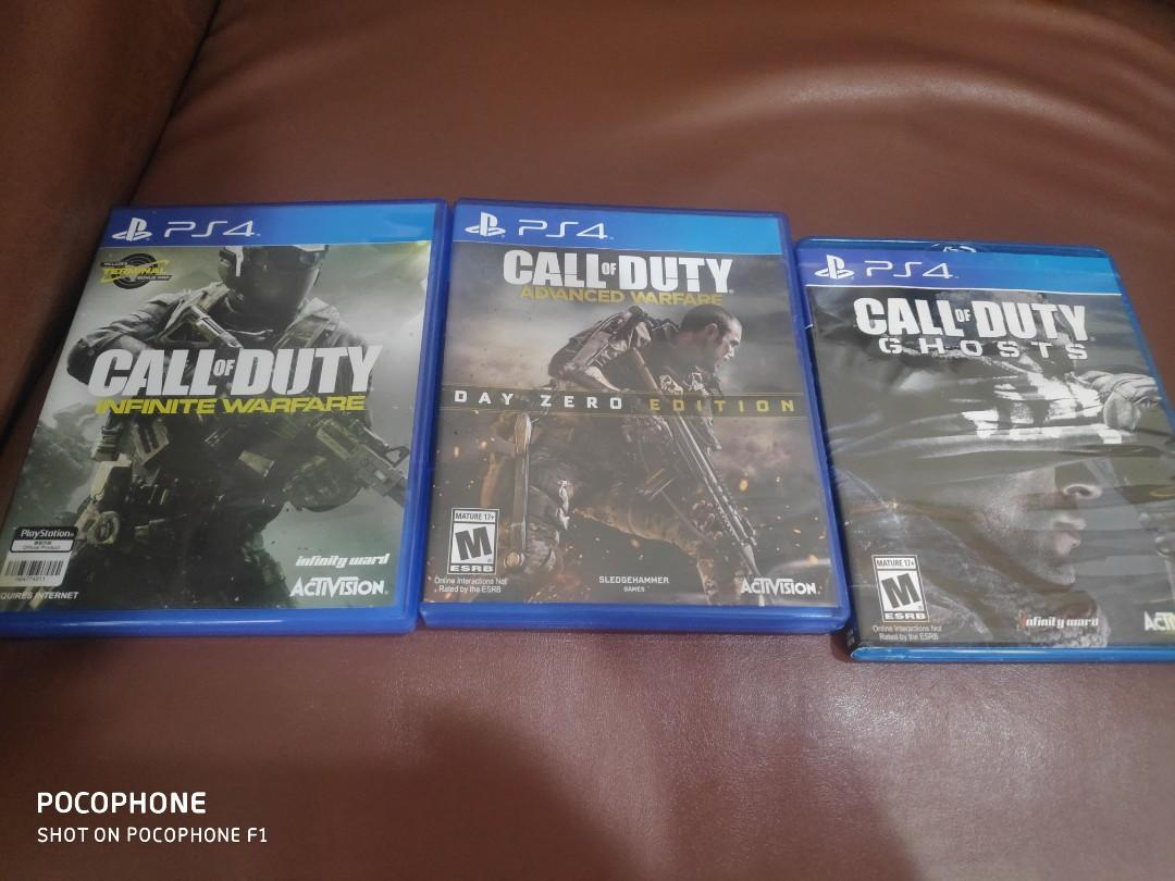 Kaset bd PS4 call of duty
