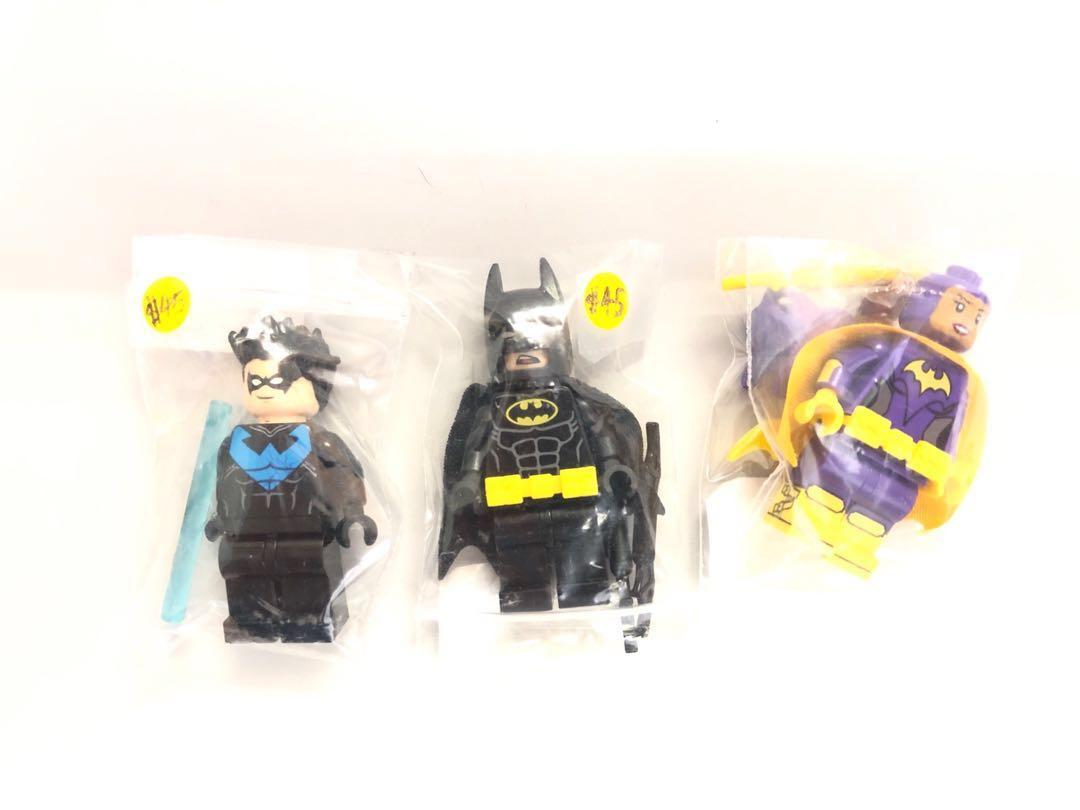 Lego 人仔大平賣,買咗未玩過, Batman,一set不散賣