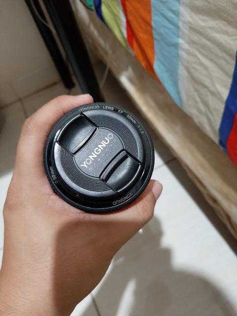 Lensa Fix f1.8 55mm
