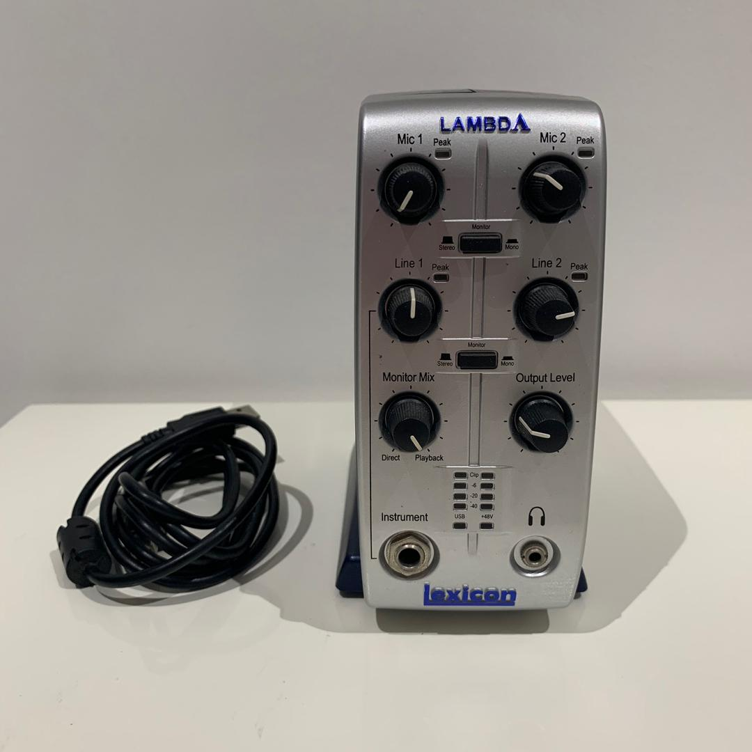 Lexicon Lambda Desktop USB Audio Interface