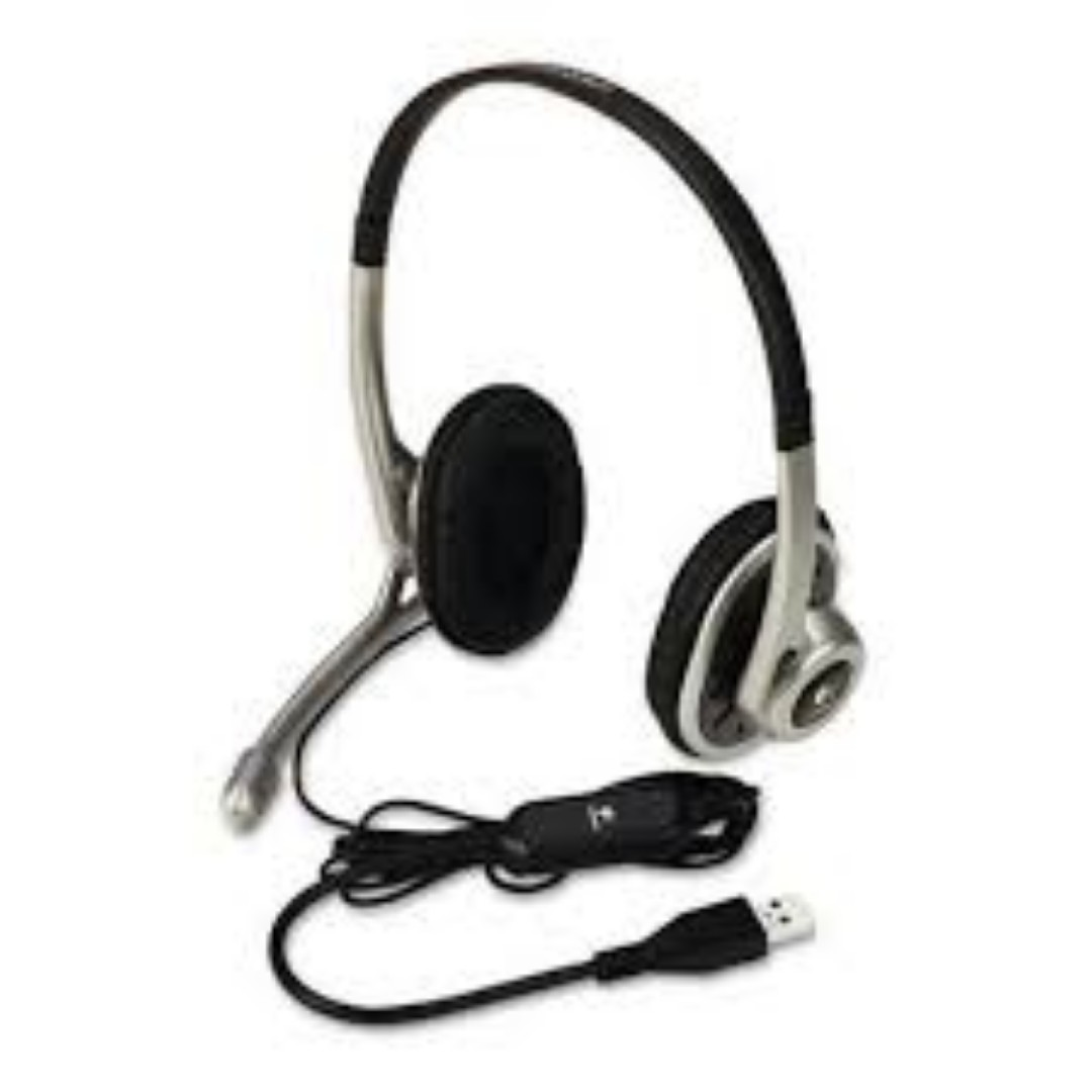 93e032f4515 Logitech USB Headset H390 with Noise Cancelling Mic (Brand New ...
