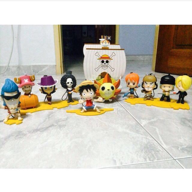 McDonald's One Piece Collection (per piece)