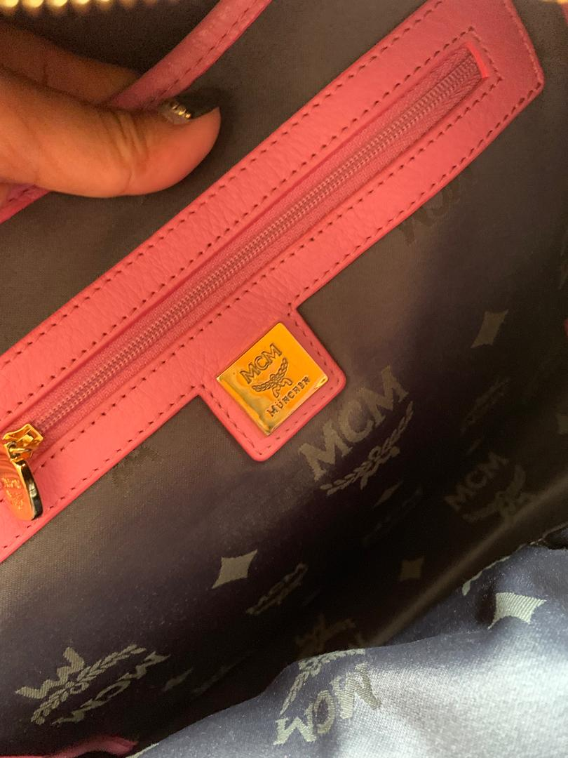 MCM Backpack limited 100% authentic Size M