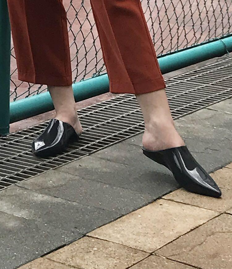 Melissa Ori Flats sandals pointed