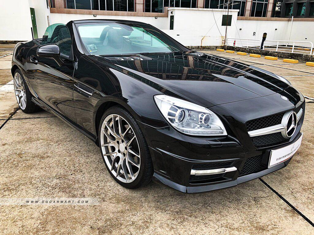 Mercedes-Benz SLK250 BlueEfficiency 7G-Tronic Auto