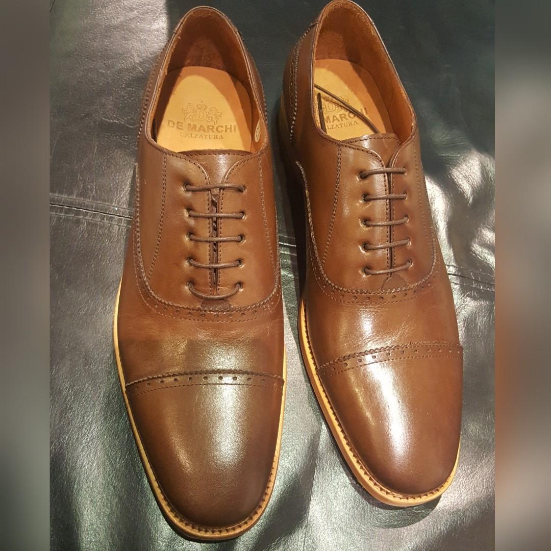 New - De Marchi brown size 42