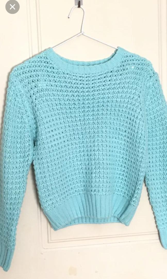 NEW Blue knit jumper