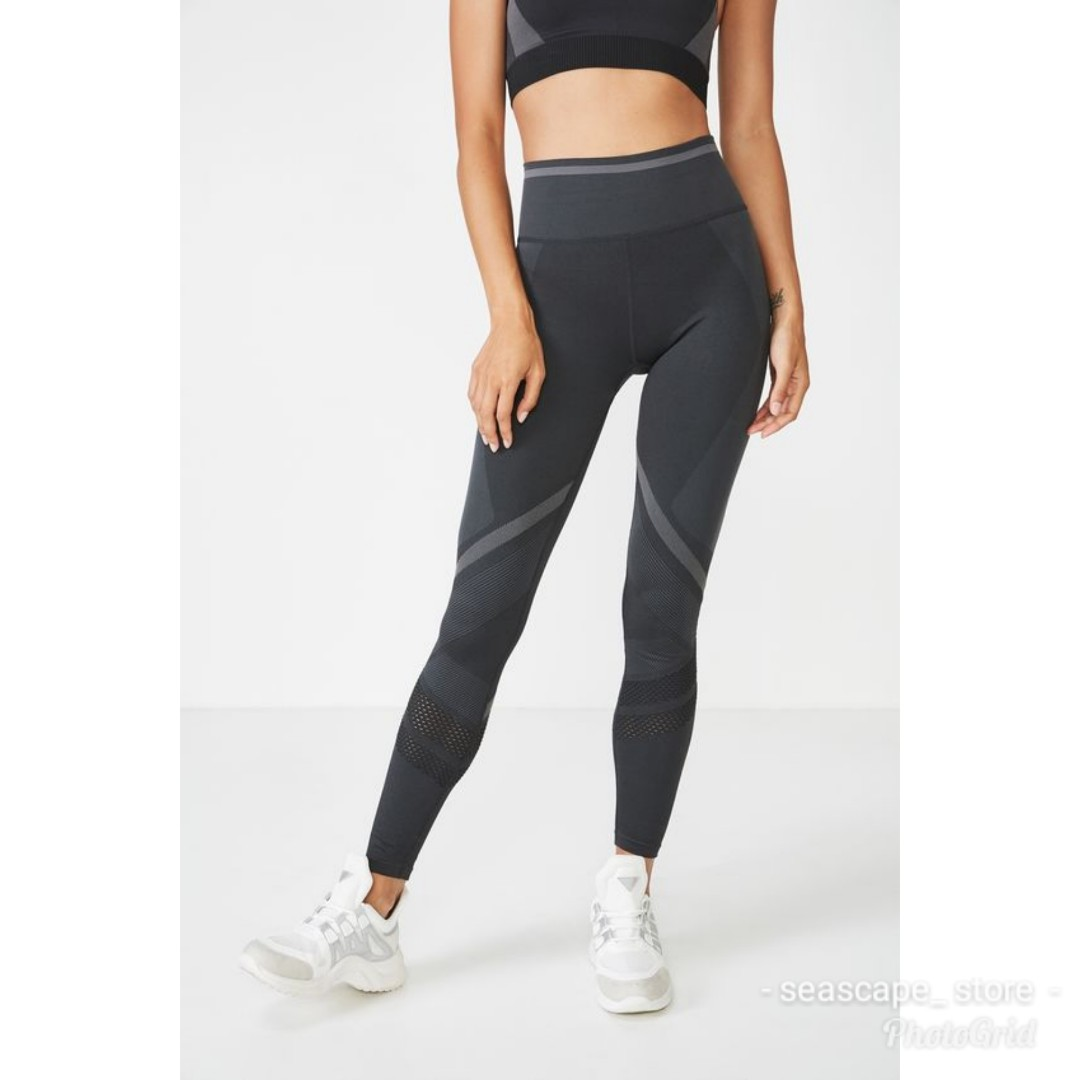 6dc07ad37f14e0 [New] Cotton On Body Seamless Sport Leggings / Tights, Sports, Athletic &  Sports Clothing on Carousell