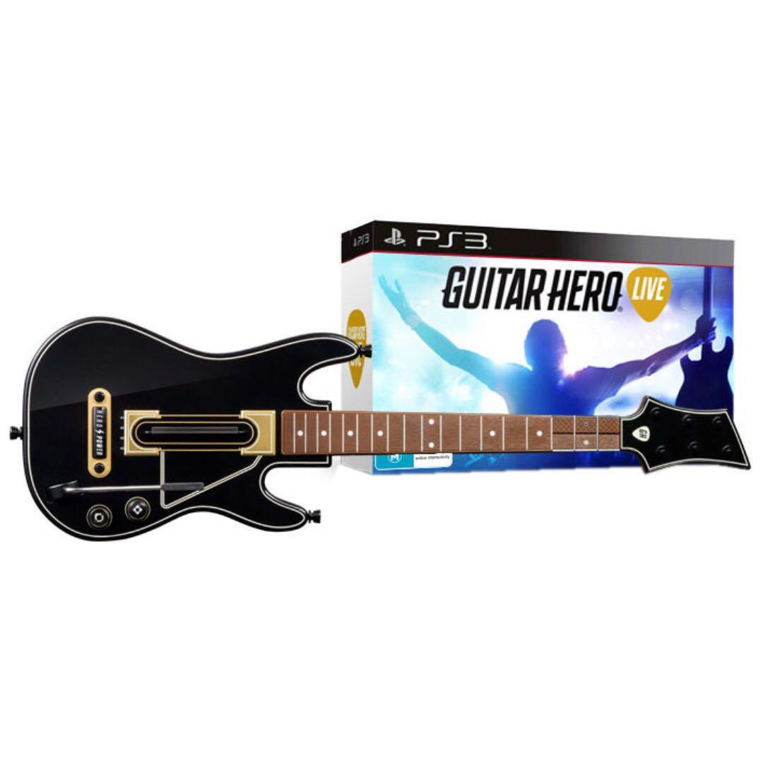 New Guitar Hero Live Controller PS3 (Without Game)