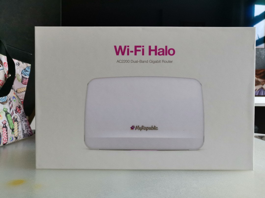 New MyRepublic AC2200 WiFi Halo Router