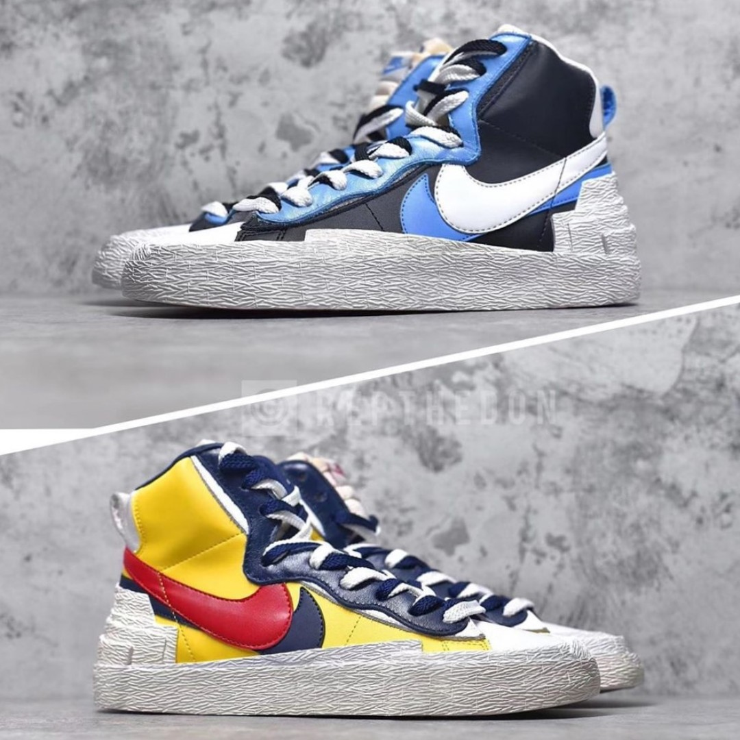 00989e60 Nike Blazer High x Sacai <INSTOCK>, Men's Fashion, Footwear ...