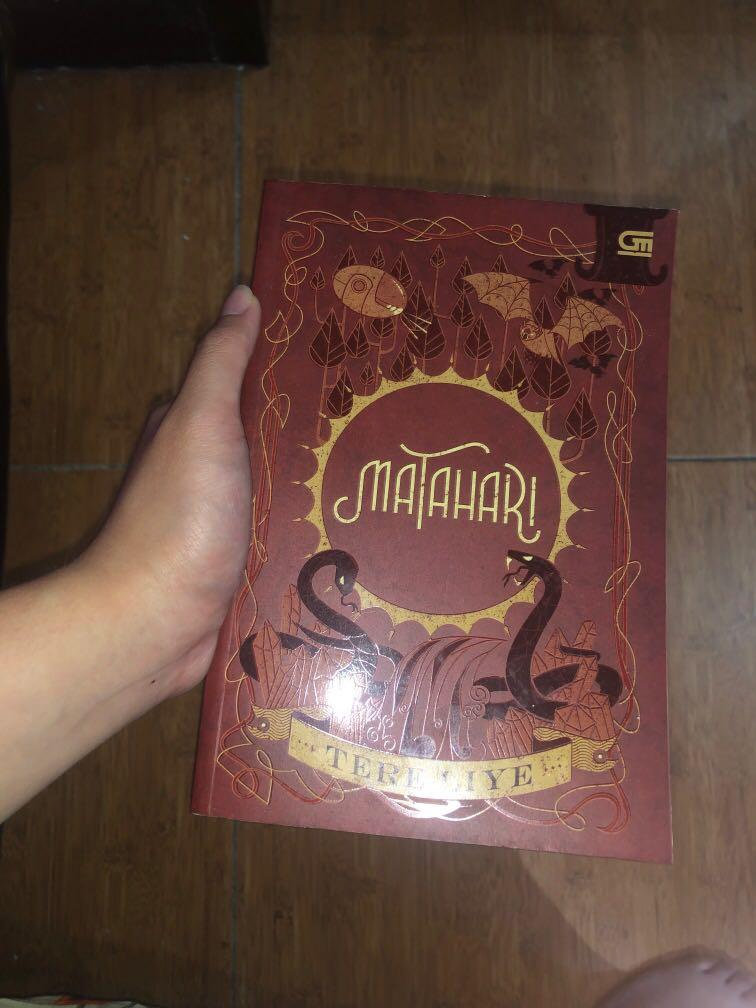 "Novel Tere Liye ""MATAHARI"""