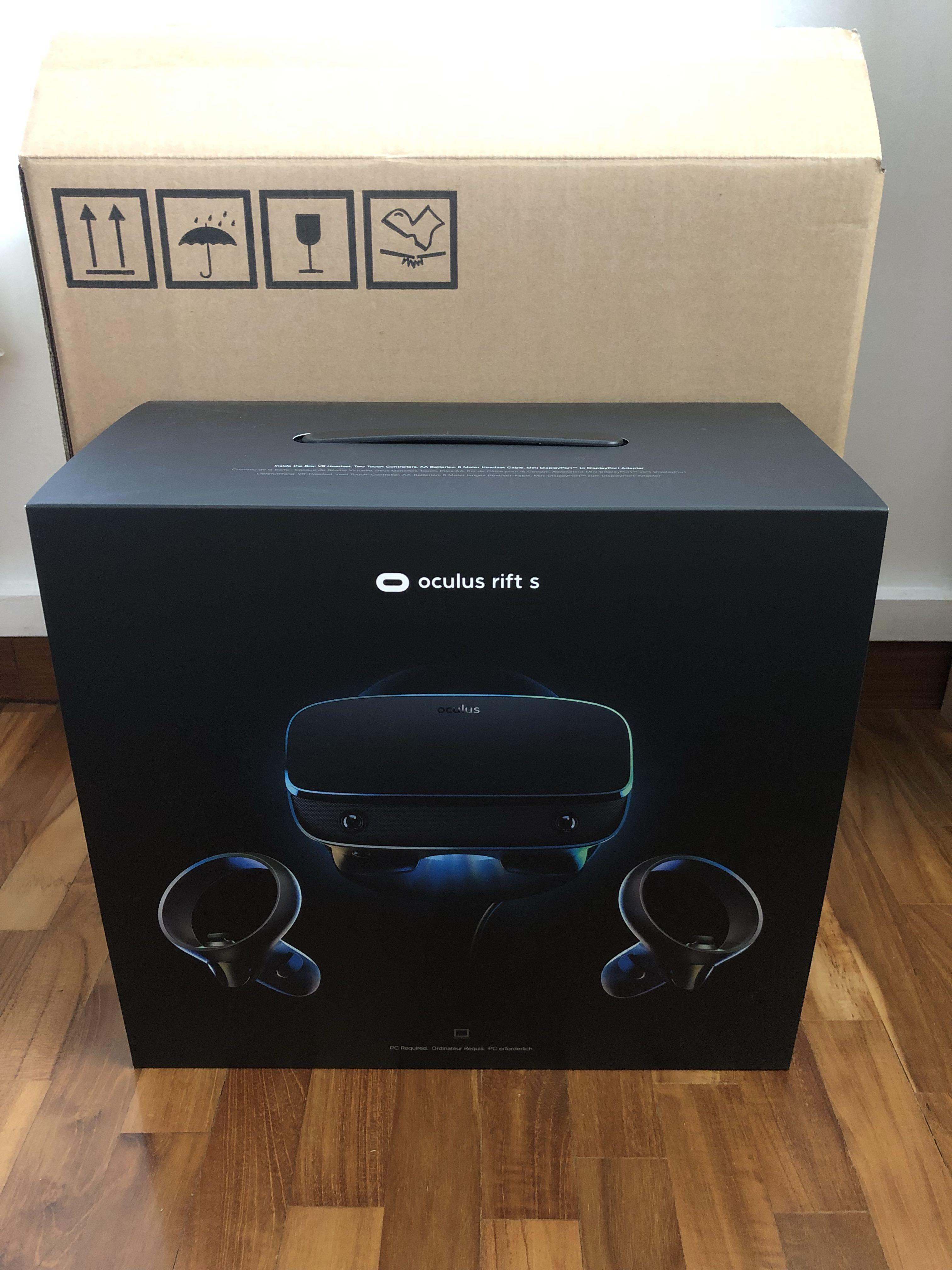 Oculus Rift S PC-Powered VR Gaming Headset, Electronics